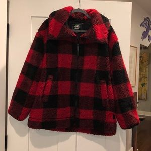 Roots teddy bear coat